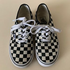Vans Checkered Youth, Men's 5.5, Women's 7